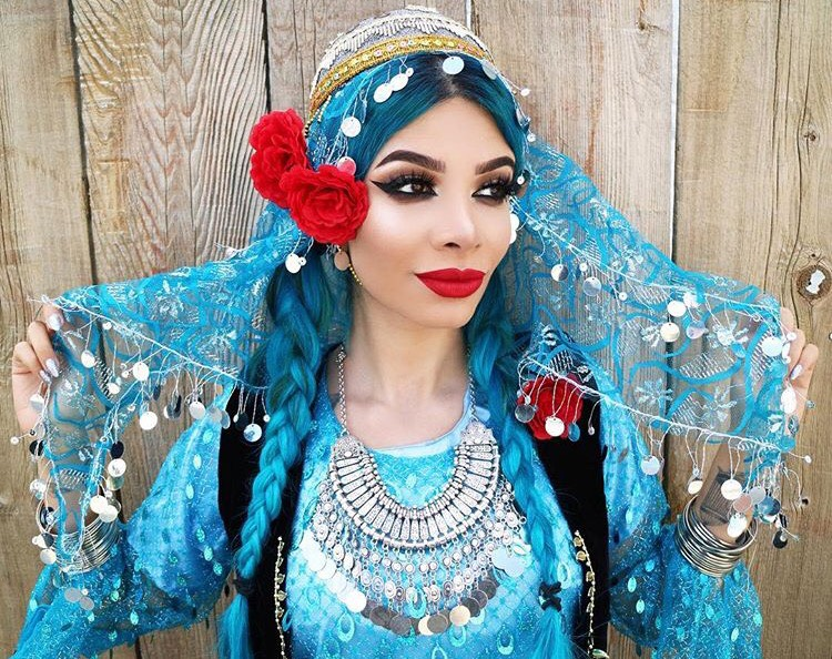 Yasaman queer Iranian Canadian Lilimoonchild
